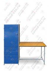 СПМ-01-11 стол со шкафом