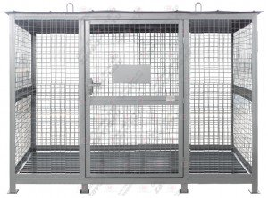 ХБ-01-03 хранилище для баллонов