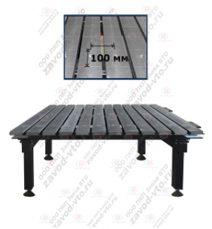 ССМ-01-07 сварочно-сборочный стол с координатной сеткой
