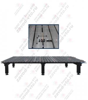 ССМ-01-10 исп.2 сварочно-сборочный стол с координатной сеткой