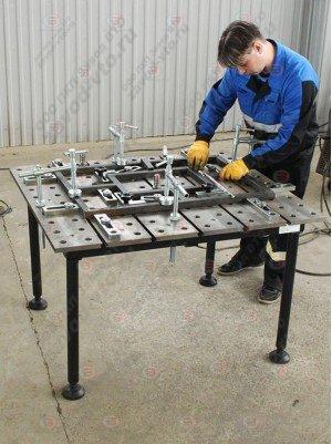 ССМД-01 стол монтажный 3D