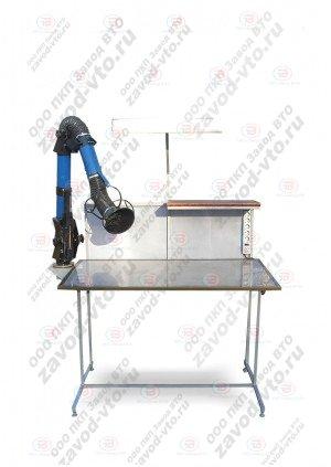 СПМ-01-07 стол лаборанта-химика с ПВУ