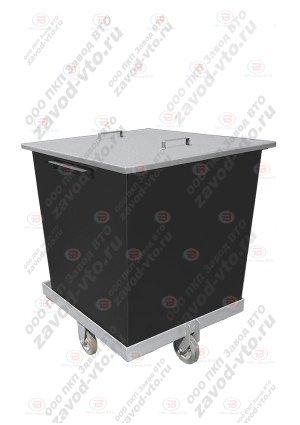 КМП-02 контейнер для ТКО(ТБО) и мусора