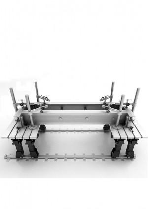 ССМ-16 Стол сварочно-сборочный на рельсовом пути (чугунные балки)