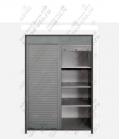 Шкаф для инструмента ШИМ-05-02 исп.2