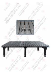 ССМ-01-09 исп.2 сварочно-сборочный стол с координатной сеткой