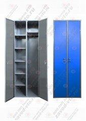 Шкаф для одежды 2-х секционный ШОМ-06-02