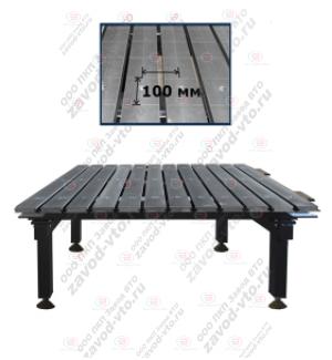 ССМ-01-07 исп.2 сварочно-сборочный стол с координатной сеткой