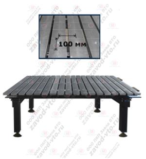 ССМ-01-08 исп.2 сварочно-сборочный стол с координатной сеткой