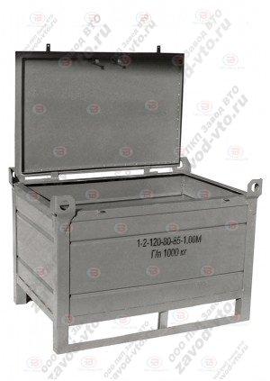 Тара производственная 1-2-120-80-85-1.00М (ГОСТ 14861-91)