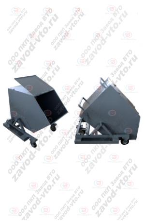 ТРМ-18-02 тележка для сбора сыпучих материалов